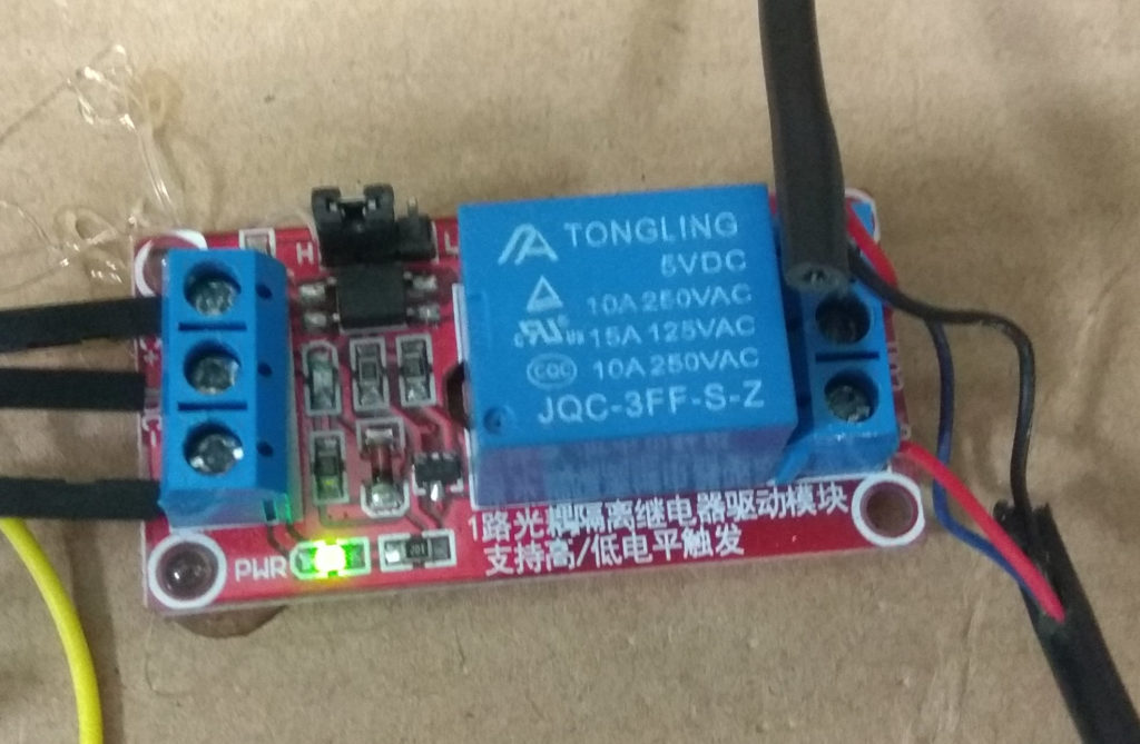 5V relay made in China will probably set your house on fire