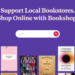 Screenshot of Bookshop.org site